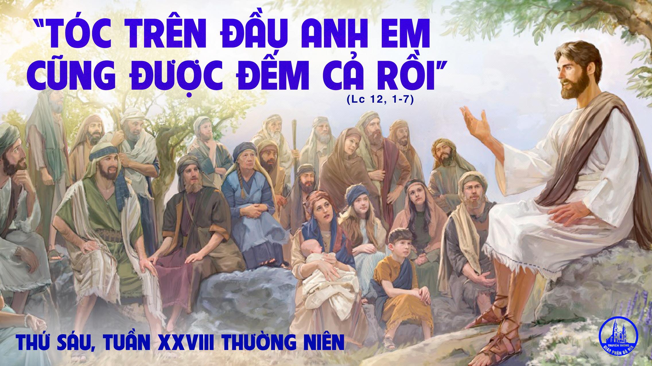 15.10 Thứ Sáu Tuần XXXIII Mùa Thường Niên Năm lẻ