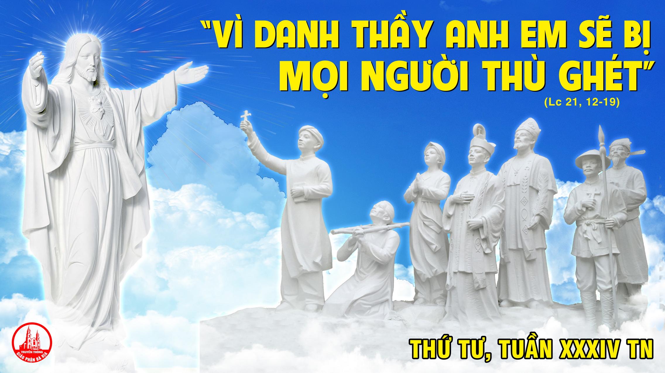25.11 Thứ Tư Tuần XXXIV Mùa Thường Niên Năm chẵn